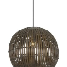 BAMBOO COVERED PENDANT METRO MENLYN