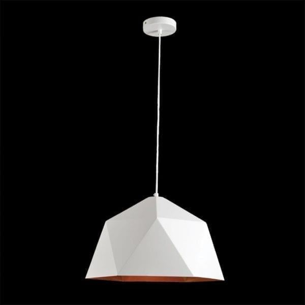 White Metal Pendant From K. Light
