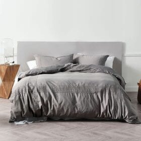 DUVET COVER SET - MAYFAIR GREY A