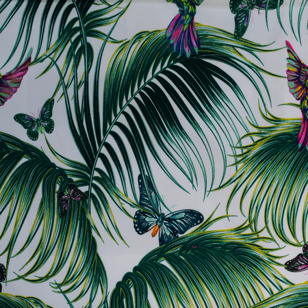 FLORAL UPHOLSTERY FABRIC FROM TURKTEX